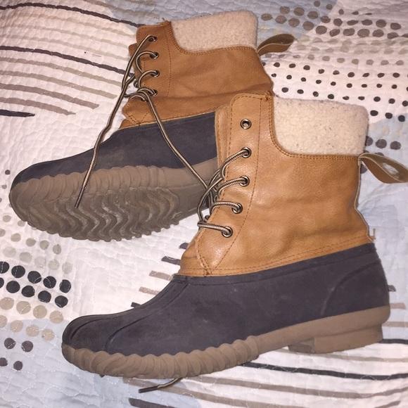 Blue Suede Shoes Bean Duck Boots